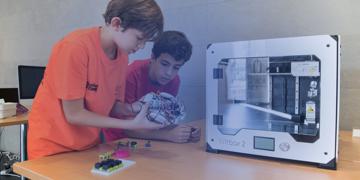 Aula con mpresora 3D