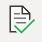 icono de seguimiento classnotebook con un cuaderno y un tick verde