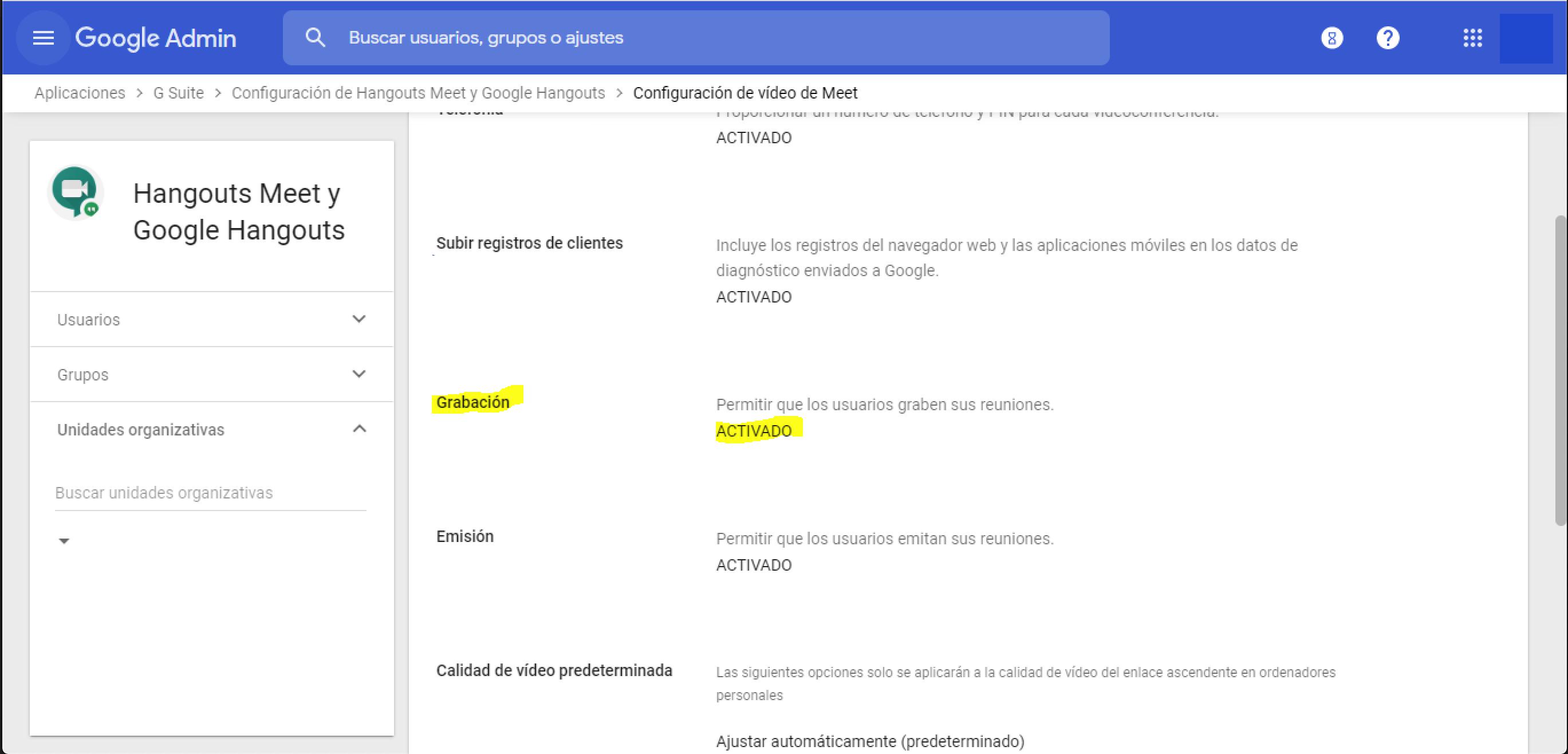 Google Meet: cómo grabar tus videoconferencias