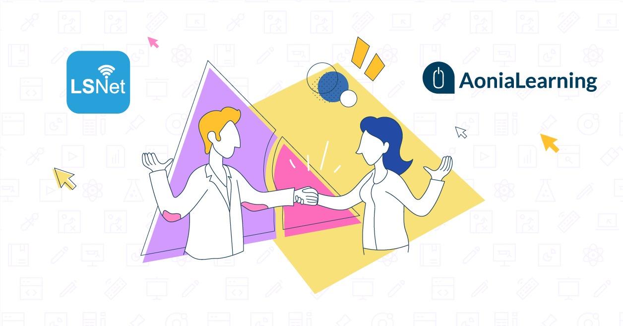 Alianza AoniaLearning con LSNet
