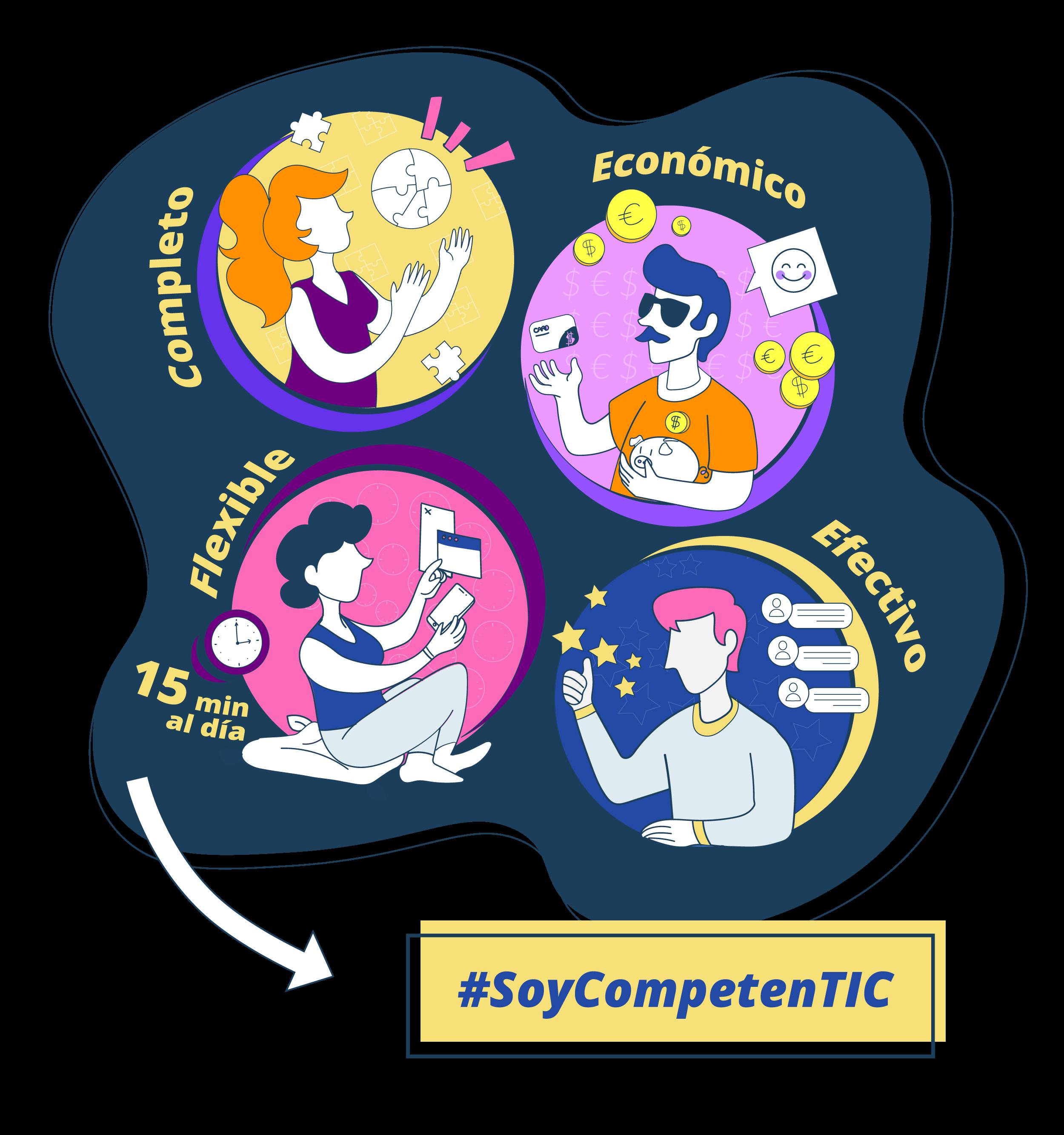 Avanza en tus competencias digitales competentes