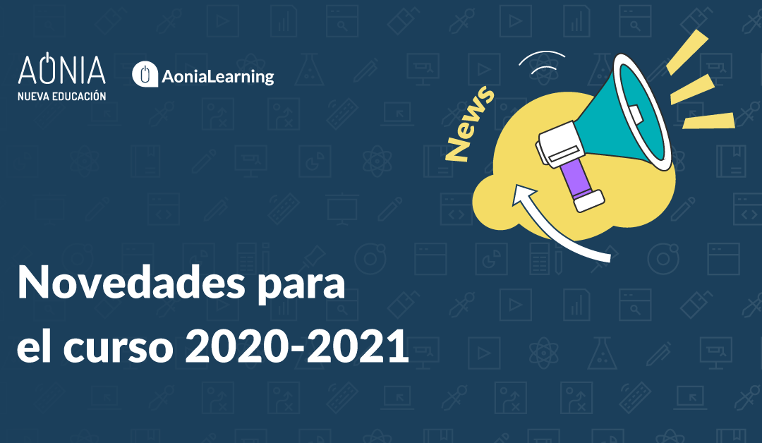 Novedades para el curso 2020-2021